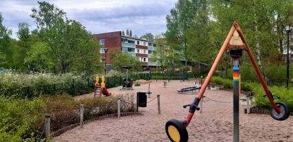 Kaupungintalon leikkipuisto